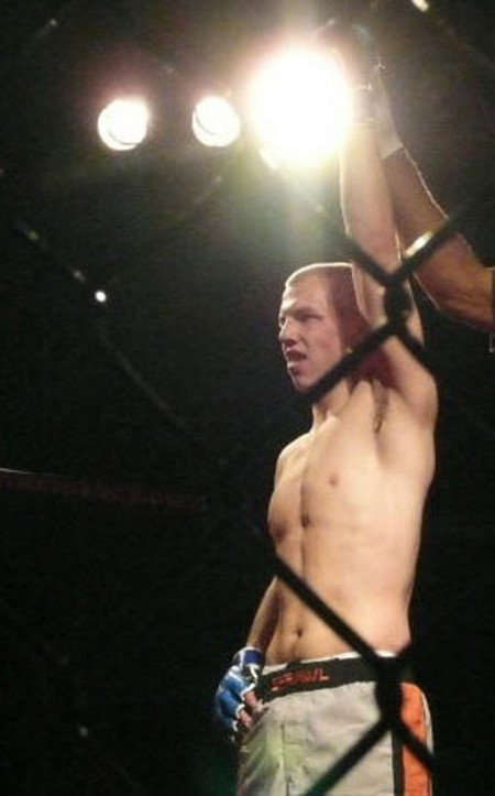 Ferris Fighter: Corey VanBuren, FSU junior, is an amateur MMA fighter with a record of 6-1. VanBuren holds a championship title for the 170-pound weight class. Photo Courtesy by Corey VanBuren