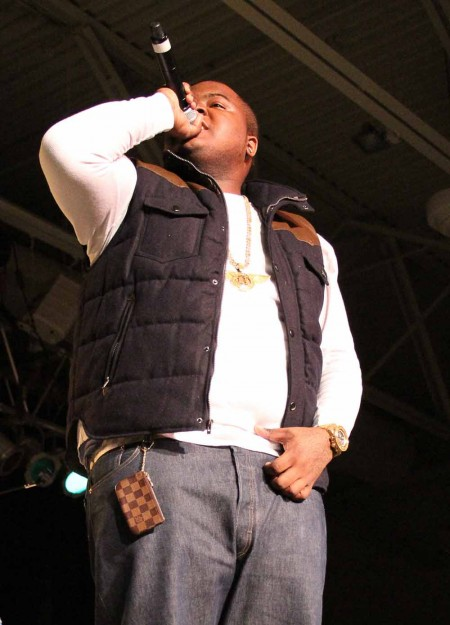Full House: Sean Kingston performed at Ferris Fest on April 16. The concert was held in Wink Arena which hit maximum capacity during the event. Photo By: Brock Copus | Photographer