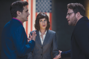The Interview featuring Seth Rogan and James Franco is available for streaming on Netflix, Itunes and YouTube