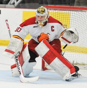 C.J. Motte, who Williams will be taking over for this year in net for Ferris State Hockey, served as a mentor for Williams.