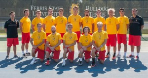 The 2014-15 men's tennis team wrapped up their fall season with a victory at the Bulldog Invitational last Saturday.