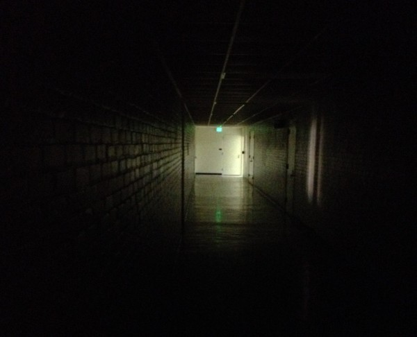 A dark hallway in the Alumni Building can make even the most level-headed disbeliever of the paranormal feel on edge.