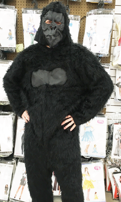 After the controversy surrounding Harambe's death at the Cincinatti Zoo, gorilla suits could see a spike in demand this Halloween.